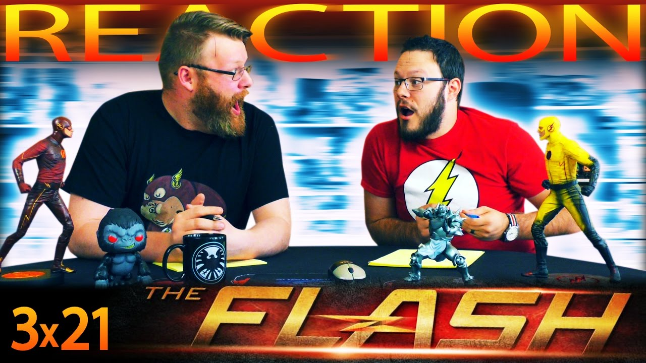 "Download The Flash 3x21 REACTION!! ""Cause and Effect"""