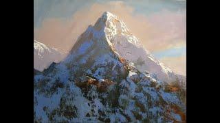 Как написать гору.Мастер классы Вугара Мамедова