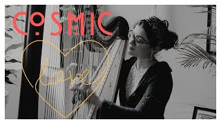 Cosmic Love - Florence and the Machine - Harp Cover - Sam MacAdam