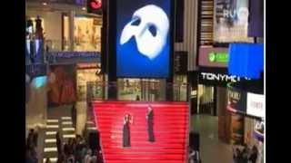 Призрак Оперы на открытии ТЦ Вегас, 20 сентября 2014