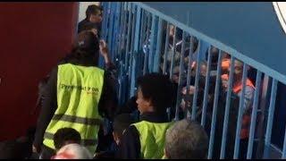 خناقة وتكسير زجاج بين لاعبي الأهلي وبيراميدز بعد انتهاء اللقاء