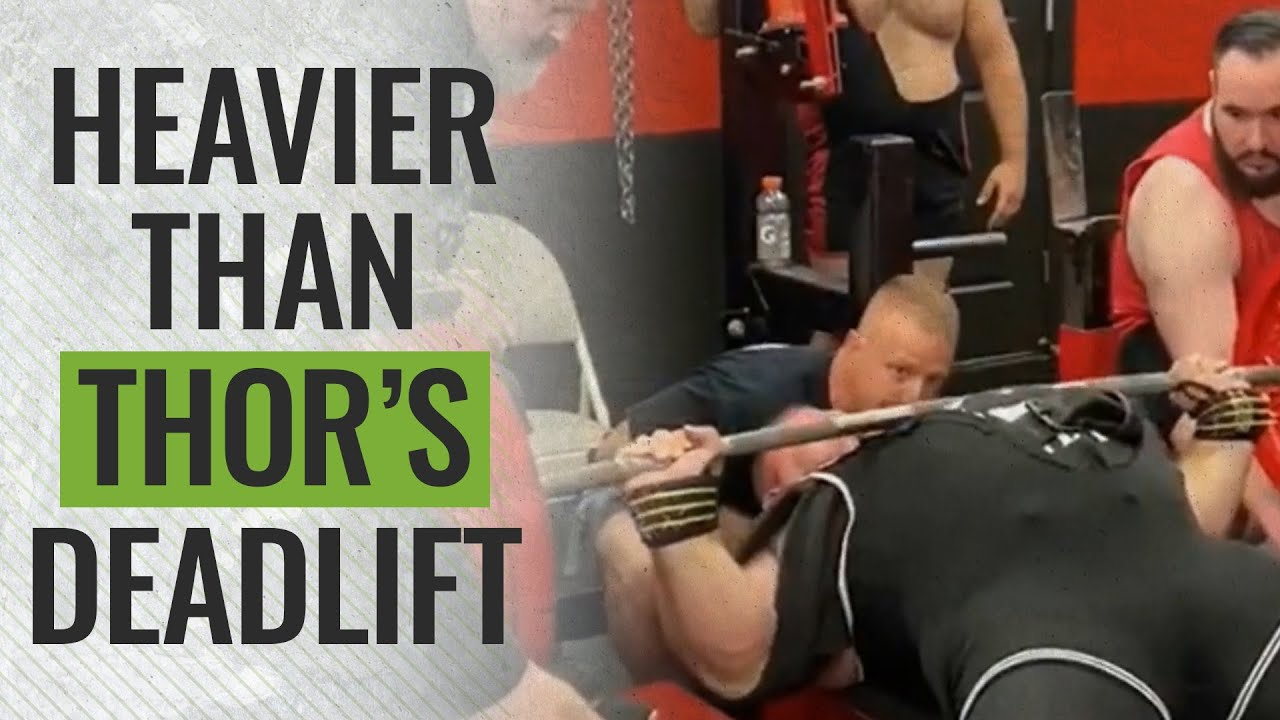 The Heaviest Bench Press Of All Time Meet Will Barotti Youtube
