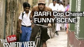 Barfi & Jhilmil's Funny escape on the hand cart |