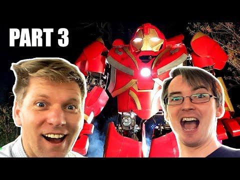 Building Avengers Infinity War Hulkbuster w. Colin Furze #3 | James Bruton