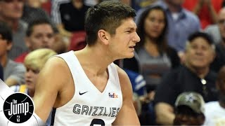 Grayson Allen picked up 2 flagrants in 8 seconds, got ejected from summer league game | The Jump