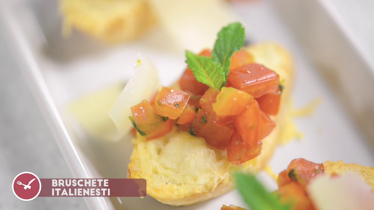 Reteta - Bruschete italienesti | Bucataras TV