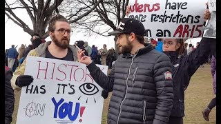 Interviewing Gun Control Protesters (Full) (Boston March For Our Lives)