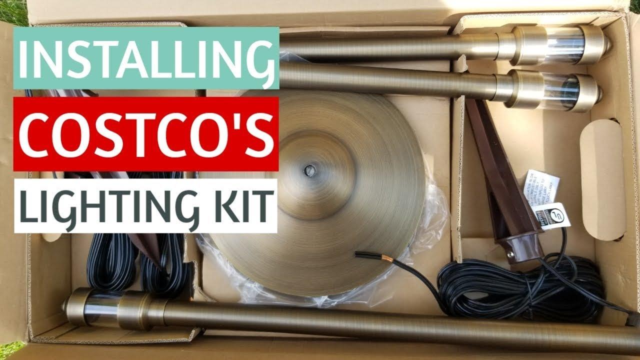 installing the costco volt lighting kit