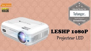 LESHP Videoprojecteur 1080P HD 3200 Lumens Led ( BL58 projector)