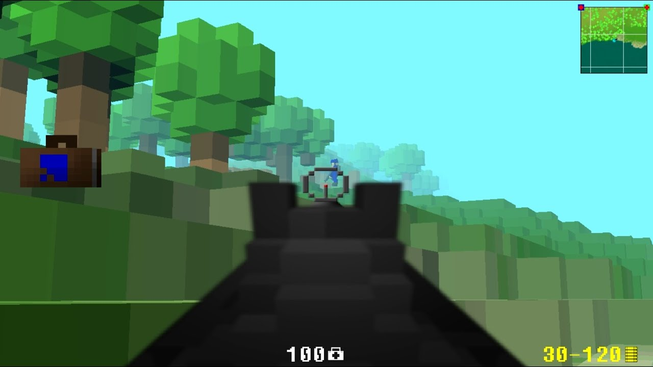 Revisiting Ace of Spades Classic, a True Voxel Shooter