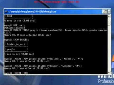 MySQL Simple Basics