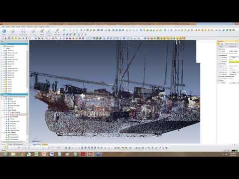 Tall Ship 3D Scan Data into a CAD Model with 3D Systems Geomagic and FARO