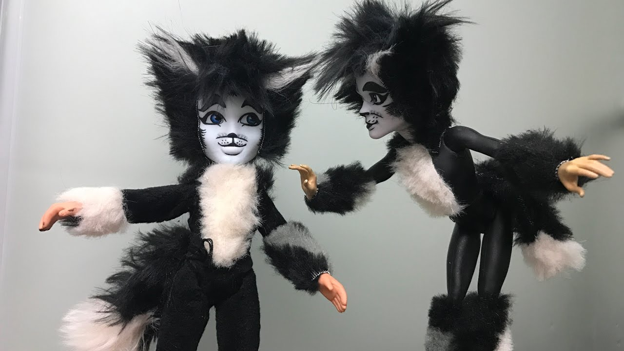 How To Make A Mister Mistoffelees Doll Cats Musical