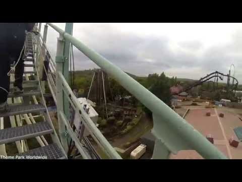 Colossus Roller Coaster Lift Hill Climb HD Thorpe Park