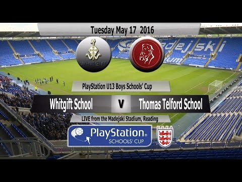 Highlights   PlayStation U13 Schools Cup   Whitgift School v Thomas Telford School