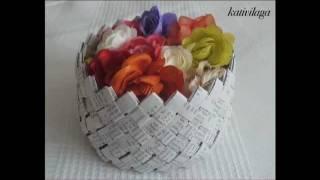 Paper Basket Panier en papier