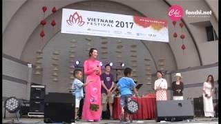 ベトナムフェスティバル2017、初日06/10のじゃんけんフォンです。 フォ...