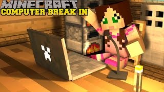 Minecraft: BREAKING INTO A COMPUTER - CRACK THE SAFE - Custom Map [1]