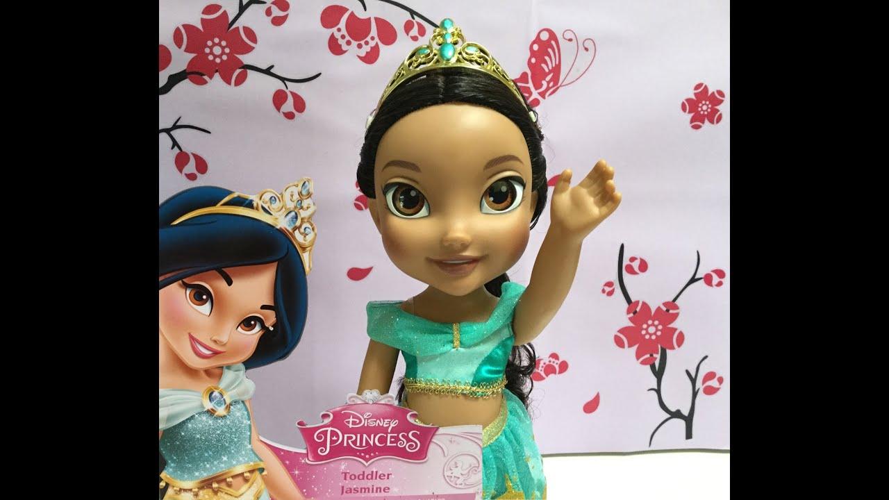 disney princess jasmine toddler doll review fun toys video youtube. Black Bedroom Furniture Sets. Home Design Ideas