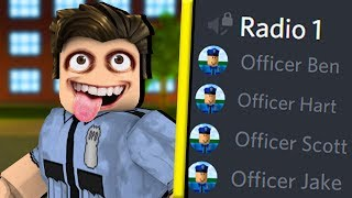 ROBLOX police officers RAGE over voice chat