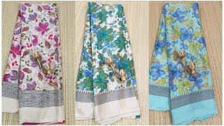 Latest Chiffon Silk Saree Collection | Chiffon Silk Saree Collection