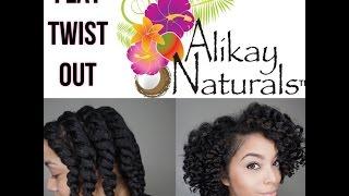 Flat Twist Out | Alikay Naturals | Natural Hair