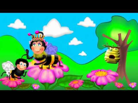 Abeja abejorro - canción infantil en español