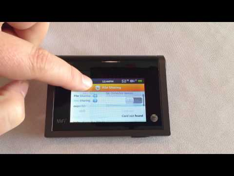 AT&T Novatel Wireless MIFI Review