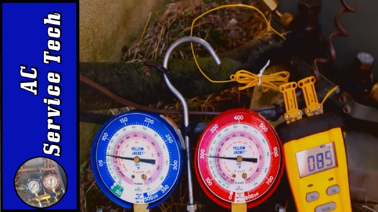 Check The Air Conditioner Refrigerant Charge  Connect