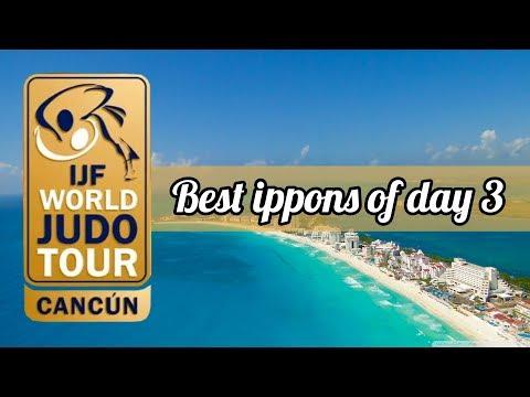 Best ippons in day 3 of Judo Grand Prix Cancun 2018