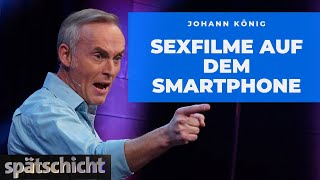 Johann König über Pornos und Angela Merkel