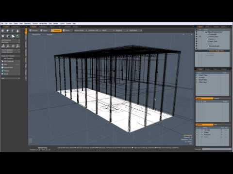 Architectural Modeling in MODO Tutorial: Floorplans
