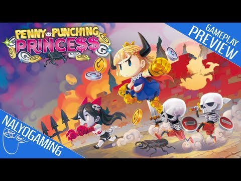 Penny Punching Princess, Gameplay Preview (Nintendo Switch, PS Vita)