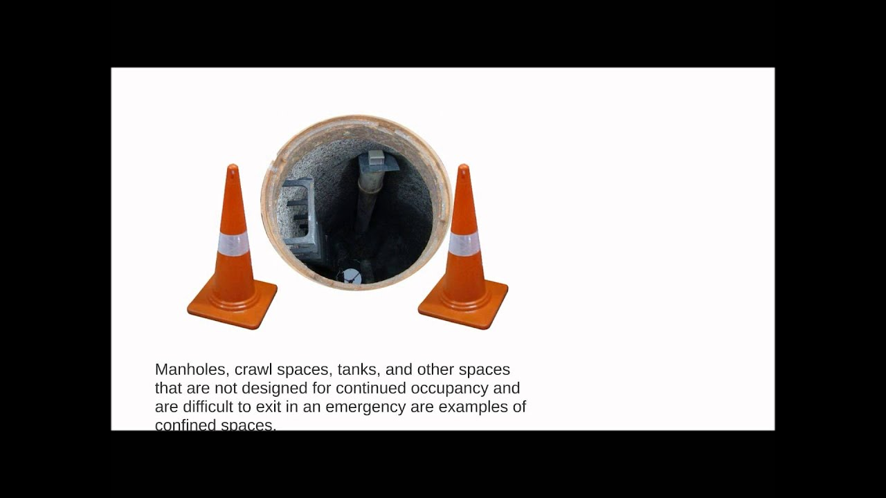 Safety Meeting Topics -OSHA New Confined Space Rule