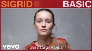 Sigrid - Basic (Live Performance) | Vevo