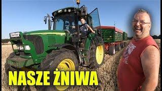 Nasze Żniwa 2019 ☆ Kosimy Jęczmień Ozimy! ☆ Nowe Przyczepy