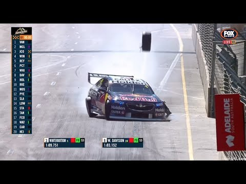 Supercars - Triple 8/Red Bull Racing Crashes