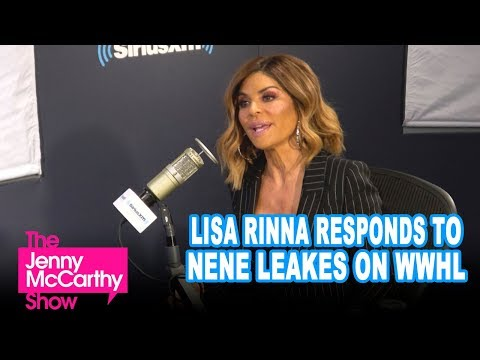 Lisa Rinna Responds To Being Name Dropped By Nene Leakes on Watch What Happens Live!