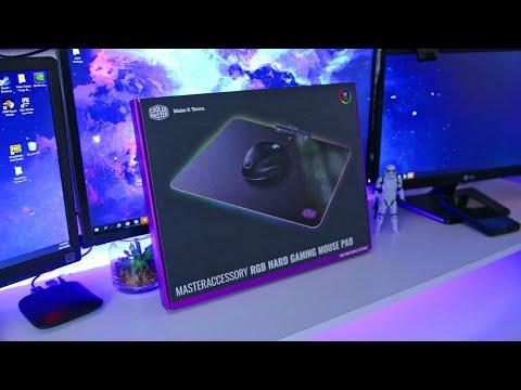 Cooler Master MasterAccessory RGB Hard Gaming Mousepad Review