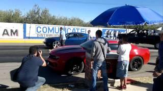 Challenger SRT 8 vs Camaro