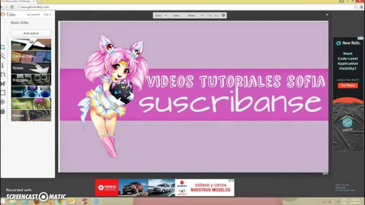 Fondos De Youtubers: Como Hacer Un Fondo De Pantalla Para Tu Canal De Youtube