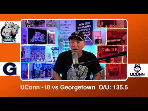 UConn vs Georgetown 3/6/21 Free College Basketball Pick and Prediction CBB Betting Tips