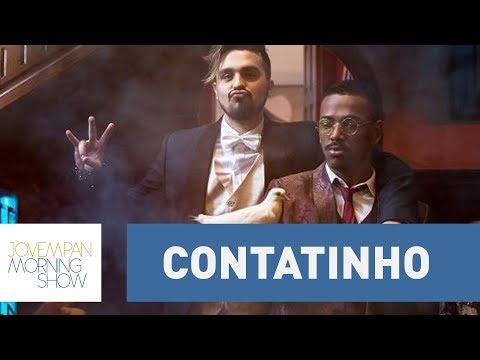 """""""Contatinho"""": Nego do Borel e Luan Santana lançam clipe da parceria"""