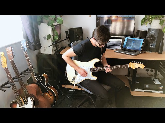 Fusion Style Guitar Solo by Dave Shannon - Original Piece
