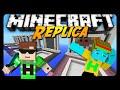 Replica Minecraft Build challenge ik ben beter :P