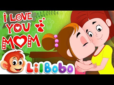 I Love You Mommy | Little BoBo Nursery Rhymes - FlickBox Kids | Mothers Day Song