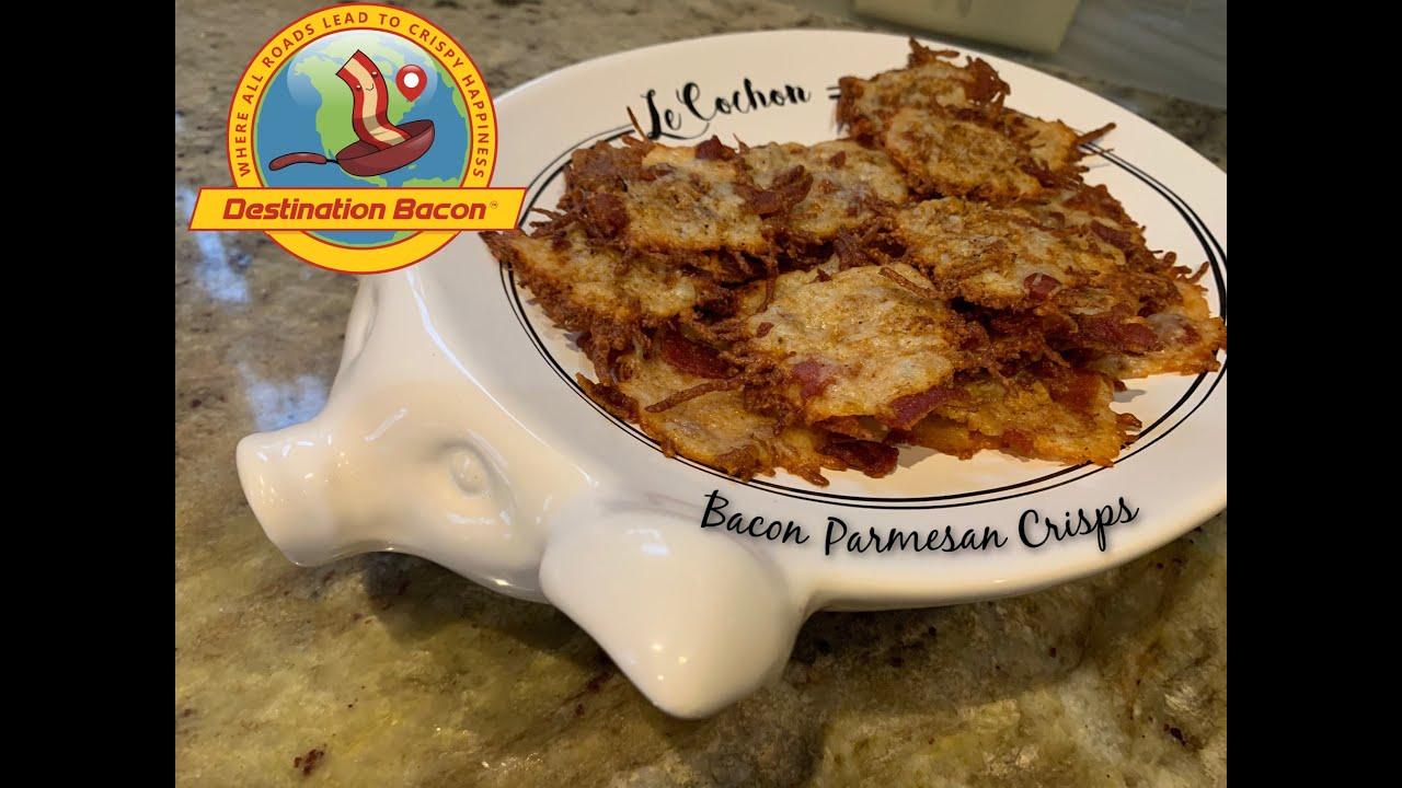 Easy & Delicious Bacon Parmesan Crisps
