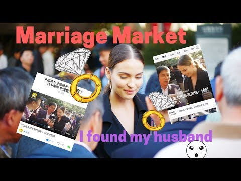 Marriage Market Shanghai *I was on the news! *  [ modernMulan ]
