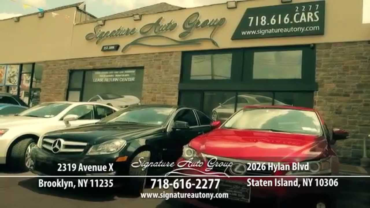 Signature Auto Group >> Signature Auto Group Televised Commercial