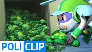 Turtle doll (Korean) | Robocar Poli Clips
